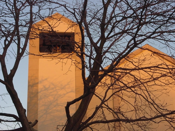 Bell Tower at Sunset